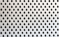 Texture of white slat wall Royalty Free Stock Images