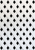 The texture of white slat wall Stock Photos