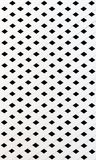 The texture of white slat wall Stock Image