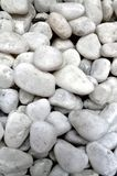 Texture of white stones Royalty Free Stock Image