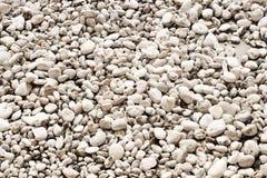 Texture of white stones Royalty Free Stock Photo