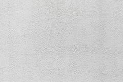 Texture of white stucco wall Stock Image