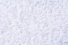 Texture of white terry cloth, abstract background Royalty Free Stock Photos