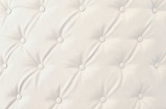 Texture of white vintage sofa Stock Photography