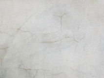 Texture of white wall with crack Stock Photos