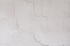 The texture on the white wall Royalty Free Stock Photos