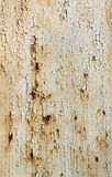 Texture of white wall with rust and corrosion Royalty Free Stock Photos