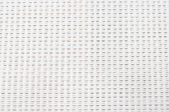 Texture of white cotton fabric Stock Photography