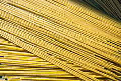 Texture: wholegrain wheat pasta. Abstract background; texture of wholegrain wheat pasta Royalty Free Stock Images