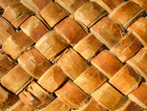 Texture of wicker basket Stock Image