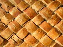 Texture of wicker basket Stock Image