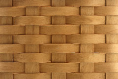 Texture of wicker basket. Texture wicker basket wood close-up material broun Royalty Free Stock Photo