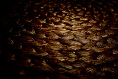 Texture of a wicker basket. Royalty Free Stock Image