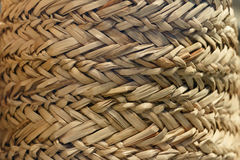 Texture of a wicker basket. Royalty Free Stock Photography