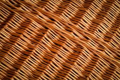 Texture of wickerwork Stock Images