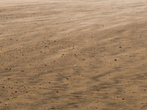 Texture of wind blown sand Royalty Free Stock Image