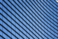 Texture windows business center. Fragment of new business center building Royalty Free Stock Photos
