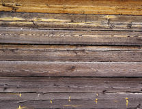 Texture of wood beams Stock Image