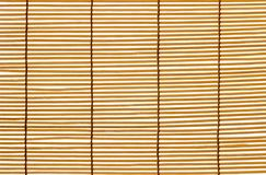 Texture wood blinds stitched rope. Identical strips of wood stock images