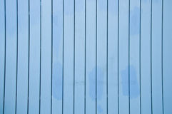 Texture of Wood blue panel Royalty Free Stock Images