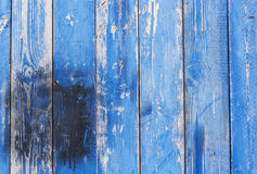 Texture of Wood blue panel for background vertical Royalty Free Stock Photo
