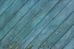 Texture of wood blue panel stock image