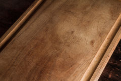Texture of a wood board. Background. Royalty Free Stock Photos