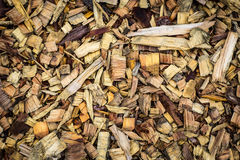 Texture of wood chips Royalty Free Stock Photo