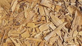 Texture of wood chips Royalty Free Stock Photos