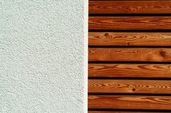Texture wood and concrete Stock Photography