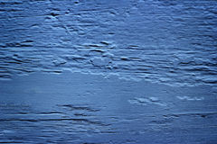 Texture of Wood dark blue for background Stock Images