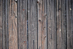 Texture of a Wood Fence Royalty Free Stock Images