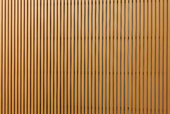 Texture of wood lath wall Royalty Free Stock Photography
