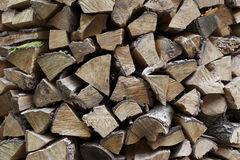 Texture wood logs Stock Photography