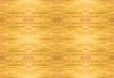 Texture of wood Maple  basketball floor pattern as viewed from above. Stock Images