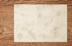 Texture  wood plank board  blank paper Royalty Free Stock Photography