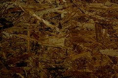 The texture of wood shavings Stock Photo