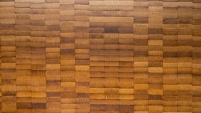 Texture of wooden bamboo material. Texture of brown wooden Bamboo material royalty free stock photography