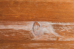 Texture of wooden board with knot Royalty Free Stock Photos