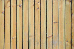 Texture of wooden board in strip. Wooden board composed by strip as background and shown as featured texture Stock Photo