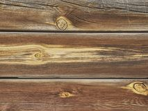 Texture on wooden boards aged by weather and weather conditions.  royalty free stock photography
