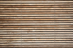 Texture of wooden boards, brown and straw color.  stock photography