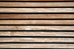 Texture of wooden boards, brown and straw color Stock Photography