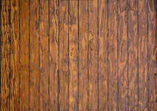Texture of wooden boards. The texture of brown wood planks Royalty Free Stock Images