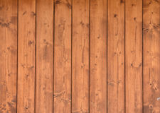 Texture of wooden boards. The texture of brown wood planks Stock Images