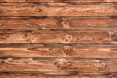 Texture of wooden boards. The texture of brown wood planks Stock Photo