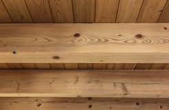 Texture of wooden boards. The texture of light wood planks Royalty Free Stock Photography