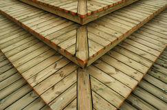 Texture - wooden boards steps Royalty Free Stock Photo