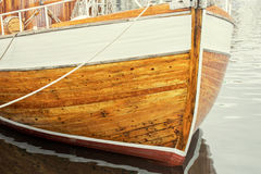 Texture of wooden boat Royalty Free Stock Photos