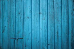 Texture of a wooden fence Royalty Free Stock Photography